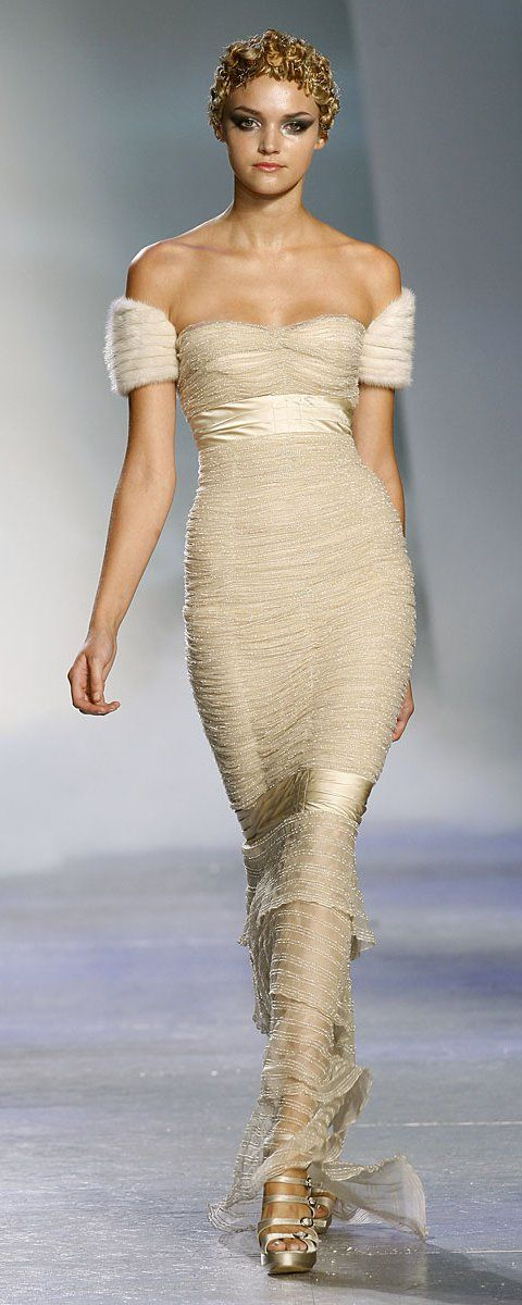 "Zuhair Murad ""Winter rhapsody"", F/W 2009-2010 - Couture ..."