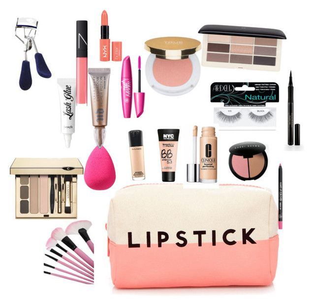 """""""What's in my makeup bag"""" by audreythebatontwirler on Polyvore"""