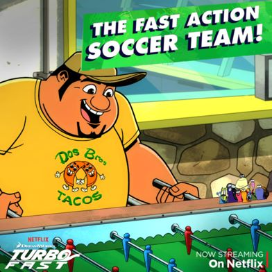"""From stunts to soccer, this crew is ready to take on any challenge! Join all the fun in the """"Kicked Off"""" episode on Netflix."""