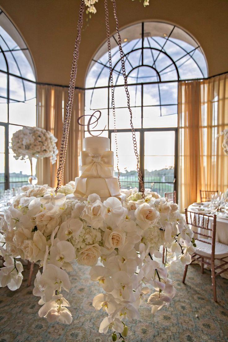 Suspended Wedding Cake