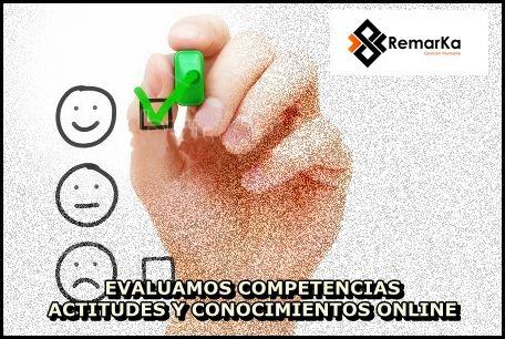 Evaluacion de Competencias, Actitudes y Conocimientos ONLINE www.remarka.co