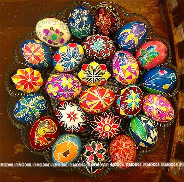 تزیین تخم مرغ عید ۹۸ Easter Egg Designs Easter Eggs Ukrainian