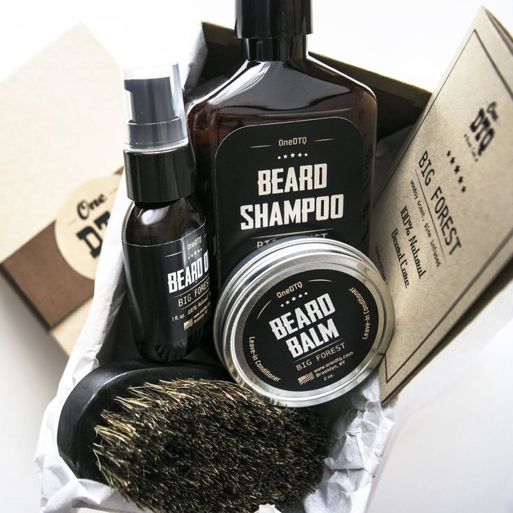 Big Forest Beard Care Kit is a very manly gift for a beardsman or a real treat for yourself. Pine infused, woodsy and 100% Natural and Organic, these beard care products are all original OneDTQ formulas developed in our Brooklyn, NY workshop. Close attention has been paid to all details from products to beard care kit packaging to ensure a great gift giving experience.