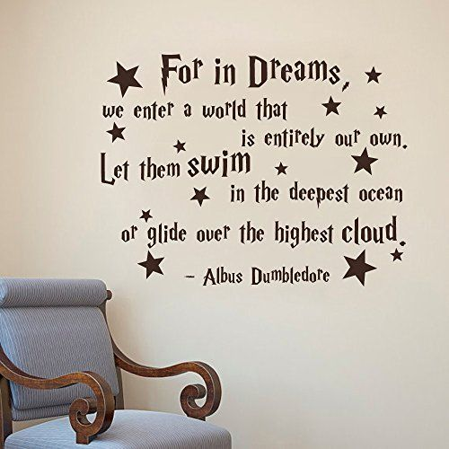 Woah! Check this out!  Dumbledore Quote Wall Sticker //Price: $11.59   Sign Up to our Newsletter for 20% off first purchase!    #hp #harrypotter  #fandom #harrypotter  #slytherin #potterhead  #hufflepuff #potterhead