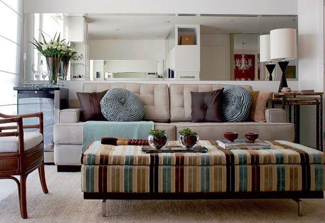 O melhor sofá para a sala pequena: Living Rooms, Decoración Living, Living Room, Decorar Ambient, Colors Schemes, Decoração Minimalista, Room, Be, My House