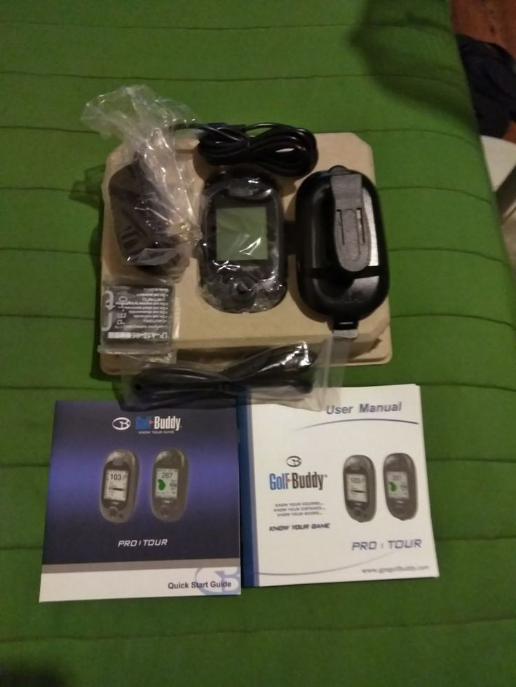Deca International Corporation Golf Buddy Pro Handheld GPS Golf Range Finder #DecaInternationalCorporation