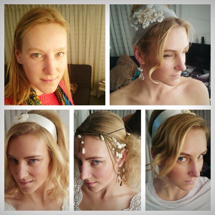 Peinados de novia , maquillaje natural