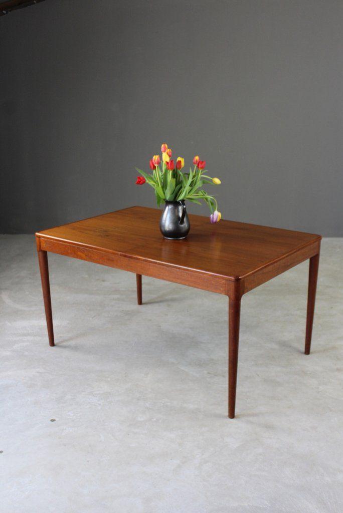 Arne Hovmand Olsen Danish Teak Dining Table Dining Table Teak Dining Table