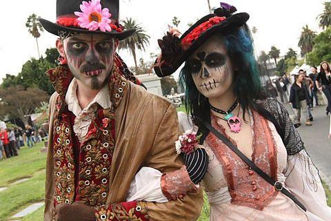 DIA De Los Muertos Celebration   Dia de Los Muertos   German Beauty Sabine