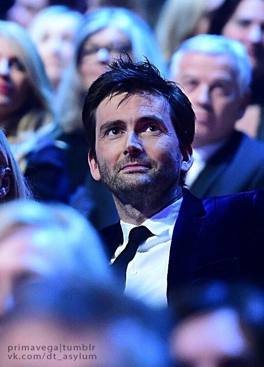 NTA - David Tennant earned his special recognition award. The look of surprise and pure happiness on his face was beautiful.