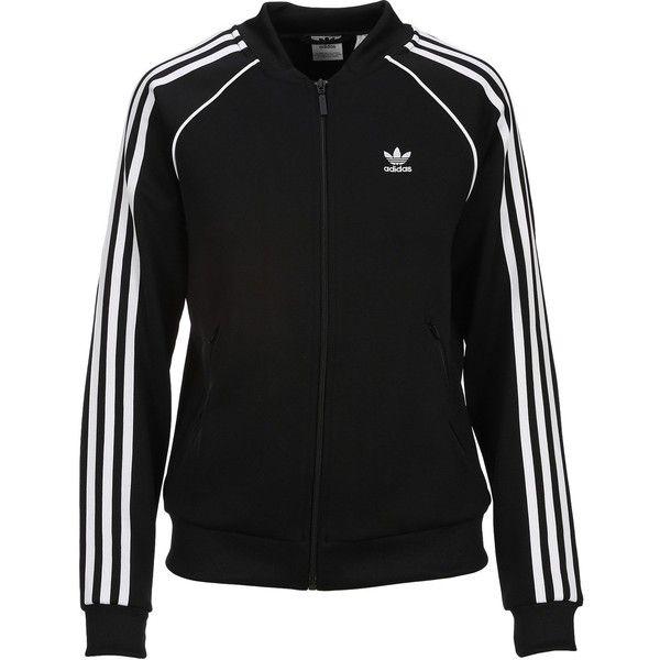 Adidas Superstar Track Jacket ($81) ❤ liked on Polyvore
