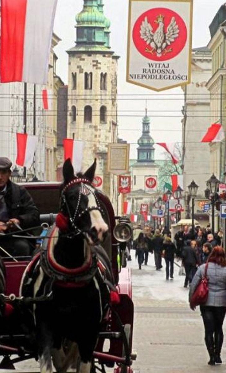 Independence Day, Krakow, Poland