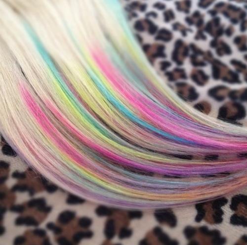 rainbow dip dye