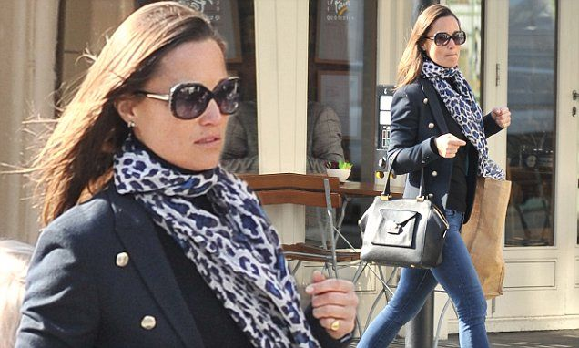 Pippa Middleton in our Superdry + Timothy Everest Muse Blazer while in the US