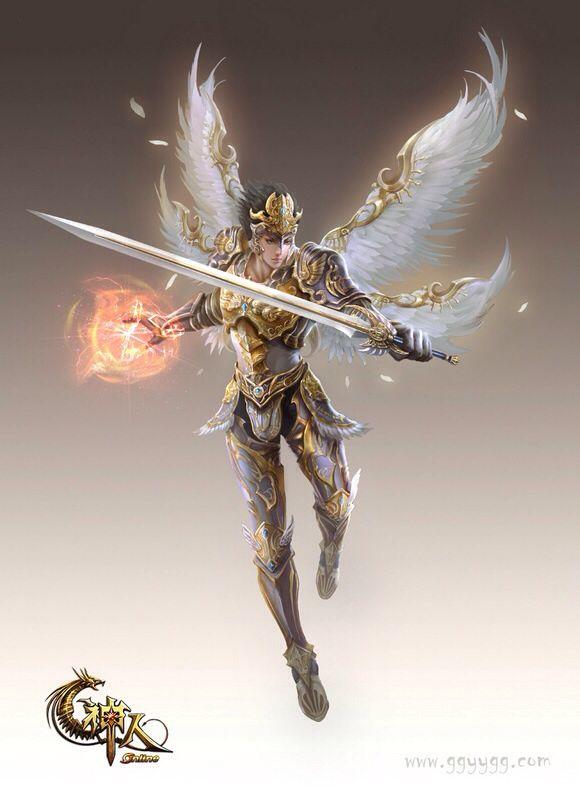 Ángel guerrero