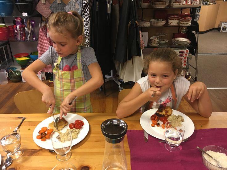 Kinderkookworkshop 17-10-2017 Mimi koken en tafelen