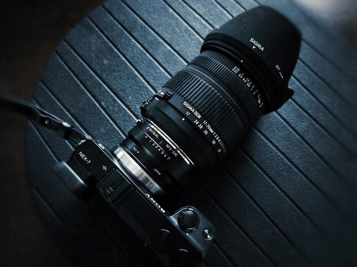 SONY NEX-7 with SIGMA 17-70mm F2.8-4.5 DC MACRO for NIKON