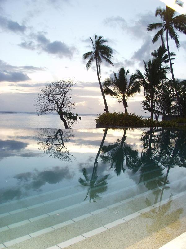 Our honeymoon in Fiji - Shangri La Resort
