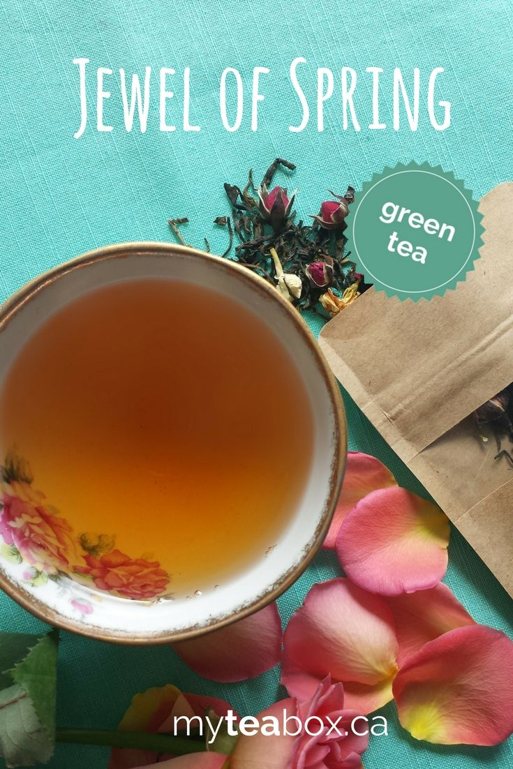 A luxury green tea blend featured by myteabox.ca