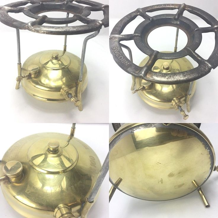 Rare Primus Model #100 Brass Camp Stove Kerosene Paraffin ...