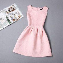 Летний стиль платья для девочек 8-20Y сплошной цвет без рукавов девочки платья подростков ну вечеринку платье дешево - ( нет принадлежностей )(China (Mainland))
