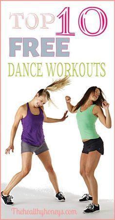 Free Zumba Workouts: Top 10 Free Dance Workouts - The Healthy Honeys