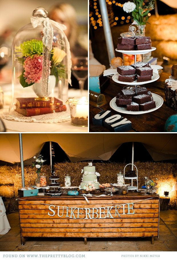 The most amazing vintage wedding in South Africa--great DIY ideas for a South African wedding!