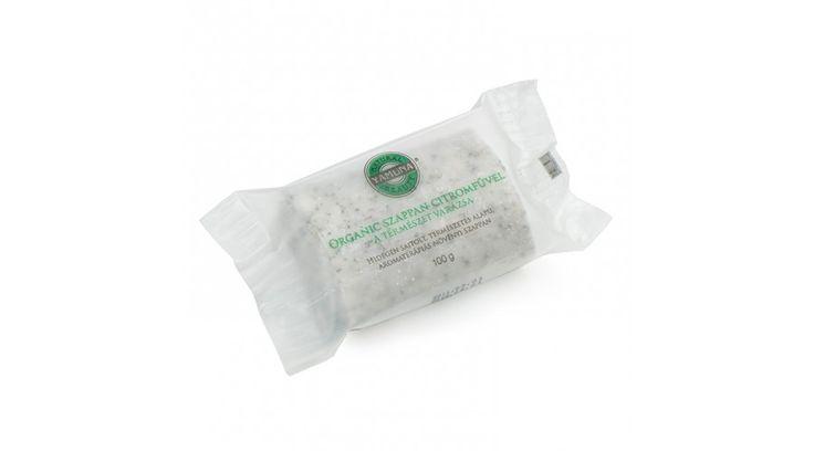 Organic-citromfüves hidegen sajtolt szappan - Hidegen sajtolt szappanok - Yamuna Natural Beauty