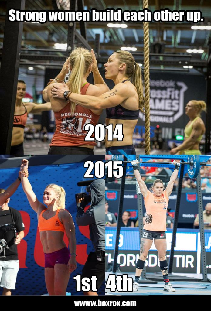 Sam and Katrin, fittest athletes on earth, 2015 Crossfit Games Winner