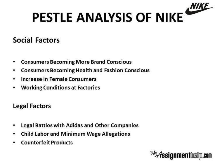 Pest Analysis Example Nike