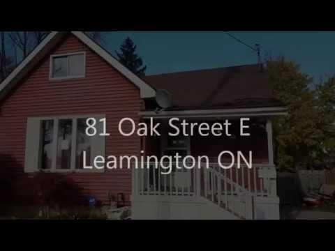 New Listing! 81 Oak St E Leamington $114,900.00