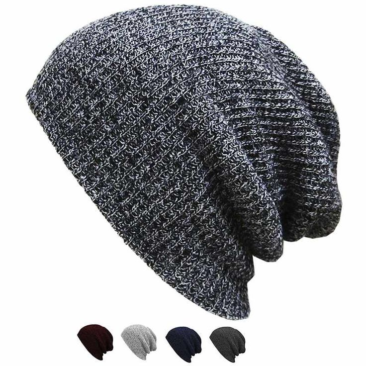 Unisex Chic Baggy Beanie Oversize Slouchy Knit Hat Men Women Skull Cap New-in Skullies & Beanies from Men's Clothing & Accessories on Aliexpress.com | Alibaba Group $2.69 - $2.72