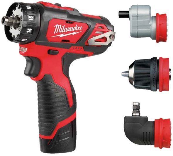 Milwaukee Modular M12 Drill Driver 4 In 1 Product Reviews Tools 2018 New