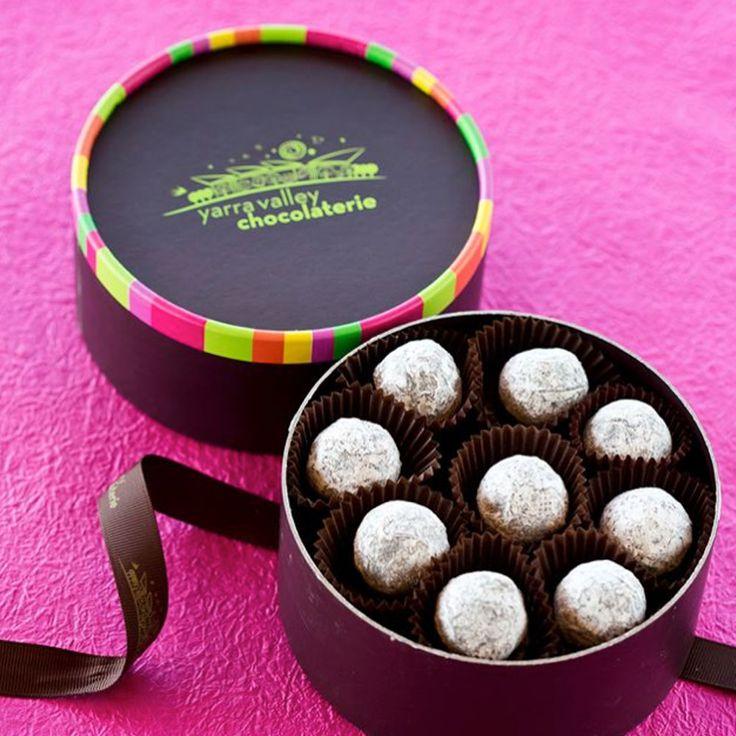Truffle box design.