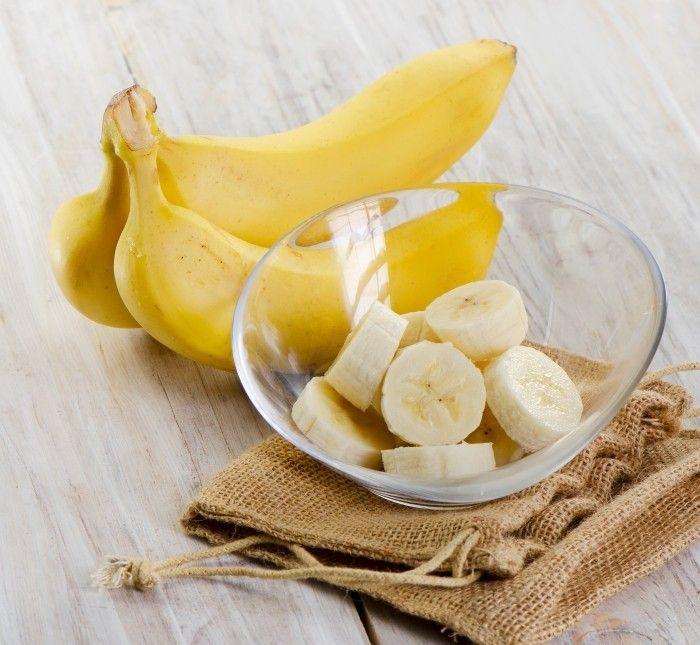 reichhaltige Gesichtsmaske gegen Falten und trockene Haut mit Banane