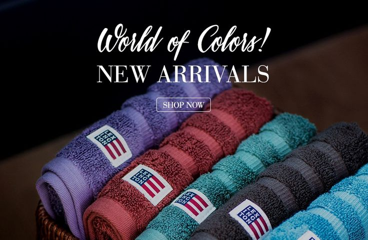 Lexington Company - Shop for Home Collections & Clothes for Men and Women - Lexington Company. Lexington soft and thick terry towel in 600 g combed cotton. New Fall Colors.