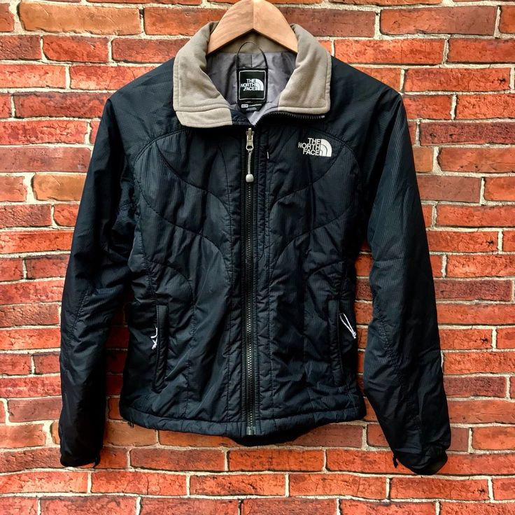 Ladies North Face Jacket Xs Tp Primaloft Coat Bottom Draw String Pockets Woman's
