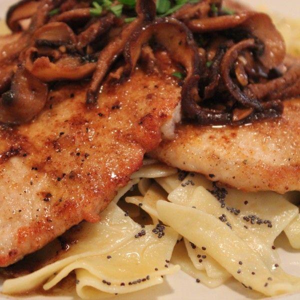how to make veal scallopini sauce