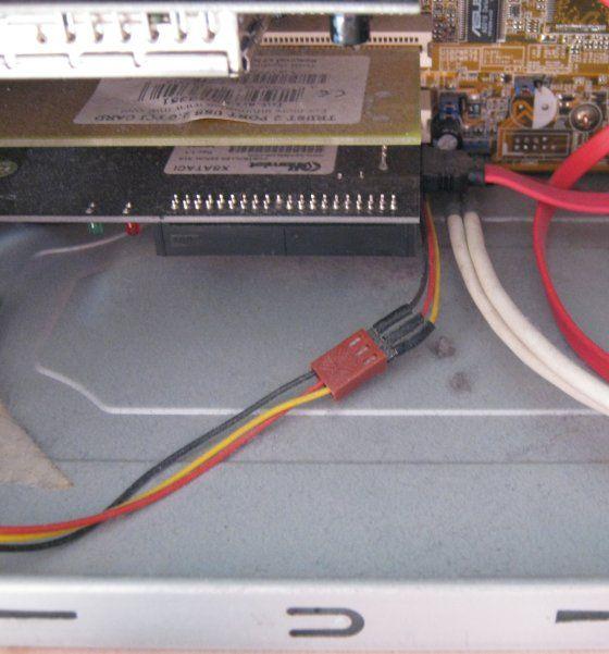 Polvere fondo computer