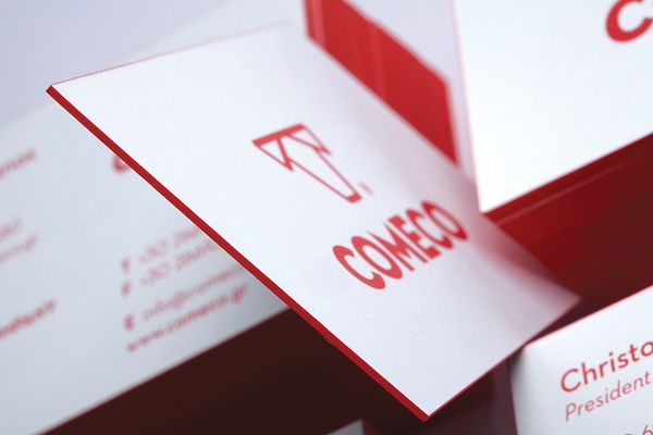 COMECO // Corfu Meat Company by Chris Trivizas, via Behance