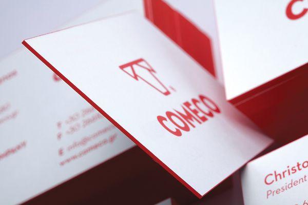 COMECO // Corfu Meat Company by Chris Trivizas, via Behance