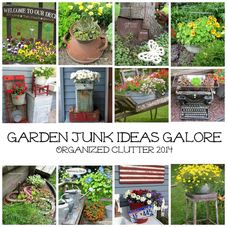 17 best images about garden repurposed garden ideas on for Upcycled garden projects from junk