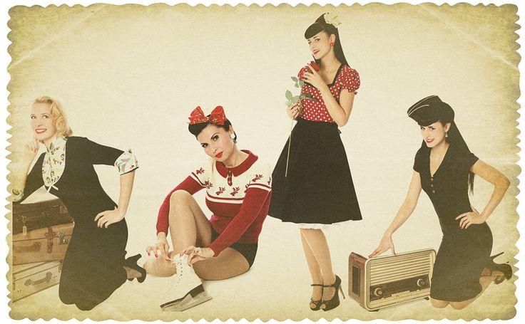 Vintage Pin Kleidung