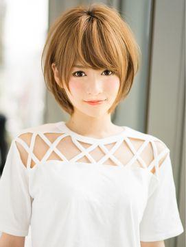 アフロート ジャパン AFLOAT JAPAN 愛されふんわり小顔ショートヘア♪