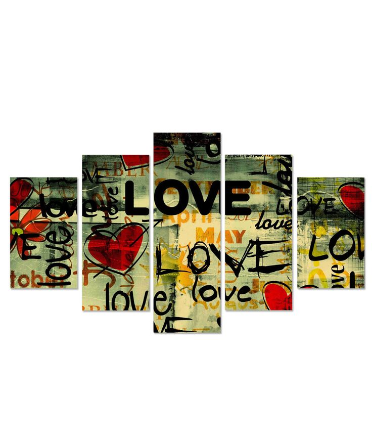 Buy 5 panel wall decor online at best price in India