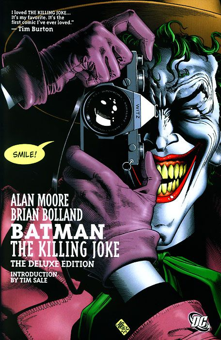 22 best comic graphic novel images on pinterest comics comic batman the killing joke 1988 by alan moore brian bolland and john higgins fandeluxe Images