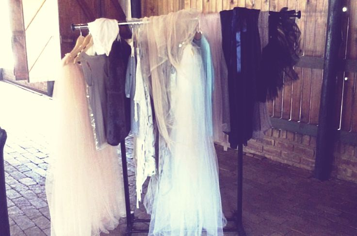 """Wardrobe for Rosemary Hill Photoshoot. """" The Closet"""" by Dust and Dreams Photography. Behind the scenes Photo by Ane Higgo"""