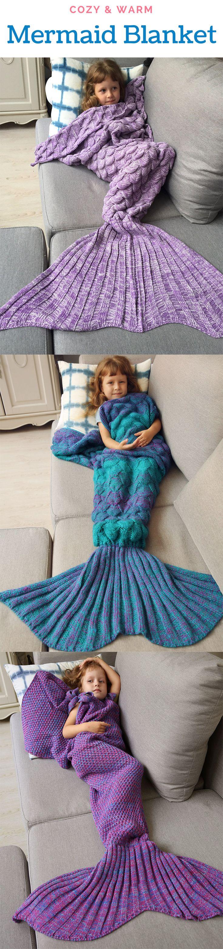Mermaid Blankets for Kids  From $7.99  Sammydress.com   #BlackFriday