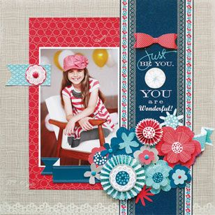 Just Because by Little Yellow Bicycle...Just in at Treasured Memories Scrapbooks & More in Englewood, FL!!!