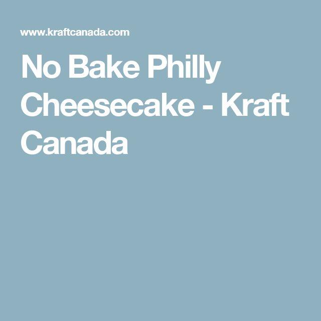 No Bake Philly Cheesecake - Kraft Canada